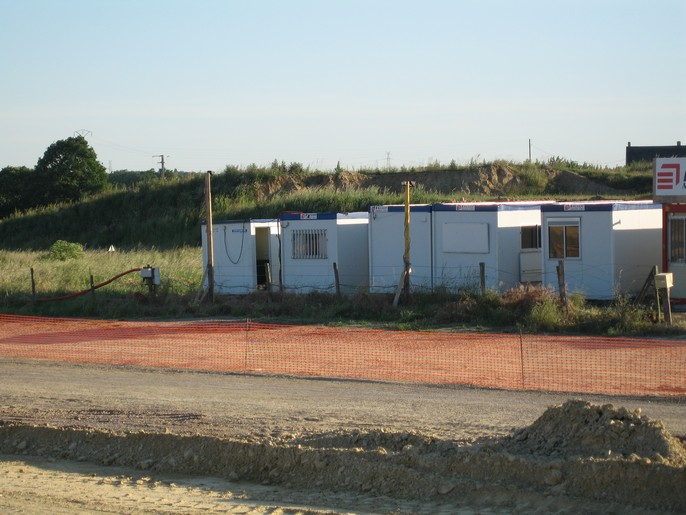 Bungalow de chantier